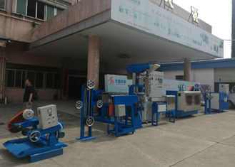 China Professional Horizontal Cable Extruder Machine For Computer / Building Wire supplier