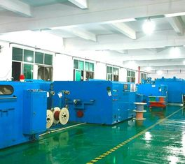 China 0.6-3.0mm Dia Copper Wire Twisting Machine Centre / Side Wrapping Type supplier