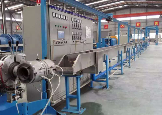 China Professional Cable Making Equipment , Multi Functional Automatic Wire Machine factory