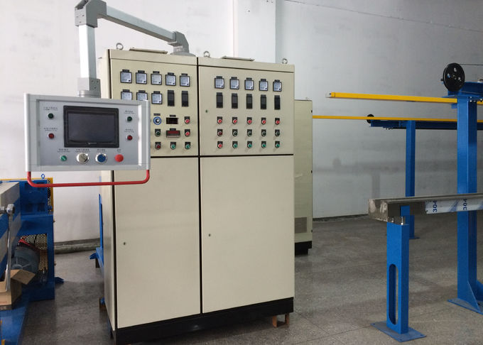 Completely Cable Production Line Extruding Process With Straightening Device
